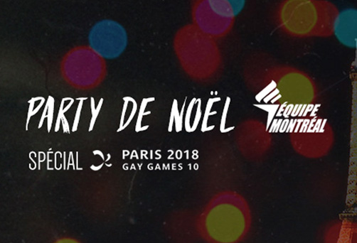 Party de Noël Spécial Paris Gay Games 2018