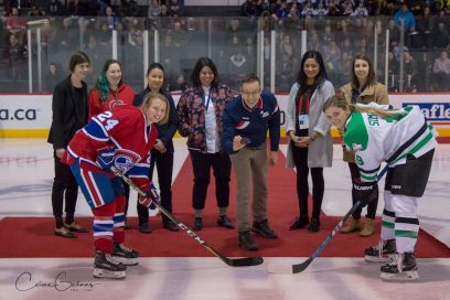 Le match You Can Play des Canadiennes